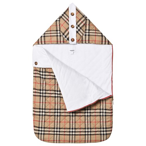 Burberry Check Babynest Beige - 4