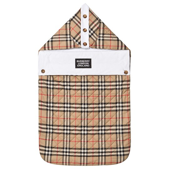 Burberry Check Baby Nest Beige A7028