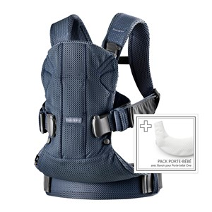 Image of Babybjörn One Air Baby Carrier Navy One Size (1422415)