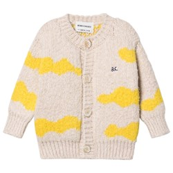 Bobo Choses Clouds Baby Cardigan Pristine
