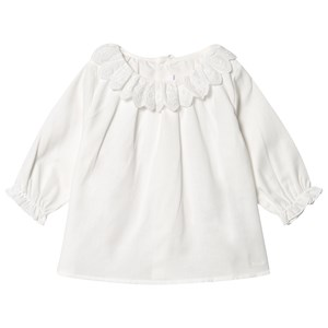 Image of Chloé Ruffle Top White 9 months (1620761)