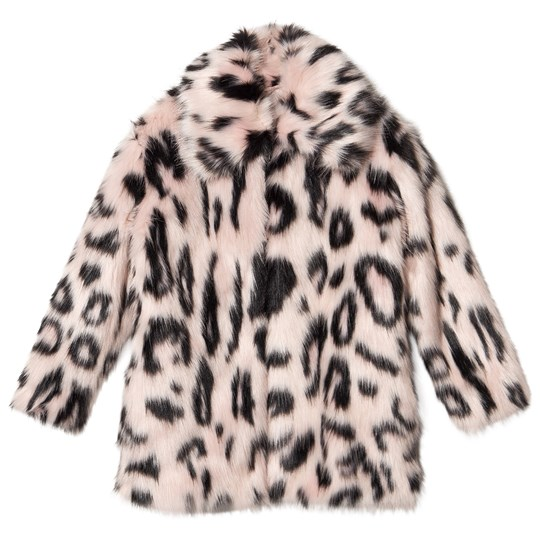 Stella McCartney Kids Exclusive Mini Me Faux Fur Coat Pink G690