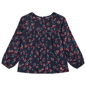Image of Carrément Beau Floral Top Navyblå 8 years (1619882)