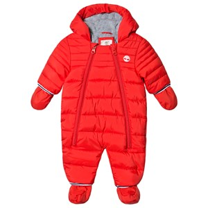 Image of Timberland Tree Logo Coverall Red 1 month (1617124)