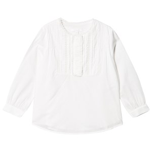 Image of Chloé Pin Tuck Blouse White 4 years (1620505)