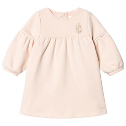 Chloé Embroidred Dress Pale pink