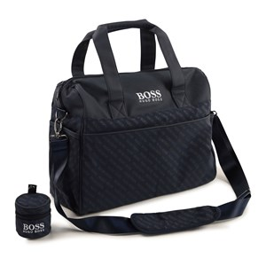 Image of BOSS Logo Changing Bag Navy One Size (1621567)