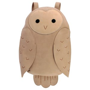 Image of Donsje Amsterdam Benjie Backpack Snow Owl One Size (1607336)