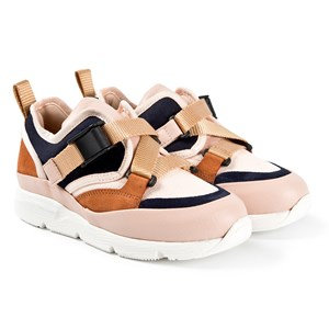 Image of Chloé Sonnie Sneakers Navy 34 (UK 2) (1620863)