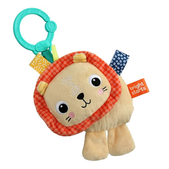 Bright Starts Friends for Me™ Lion On-the-go Toy Gold