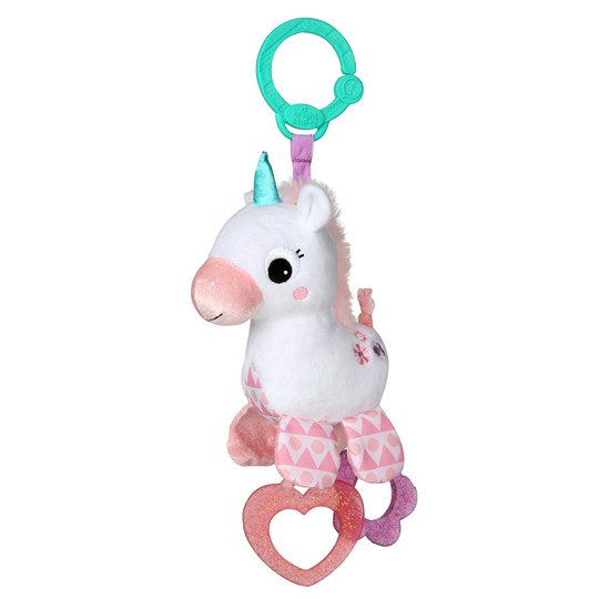 Bright Starts Sparkle & Shine Unicorn™ On-the-Go Toy White