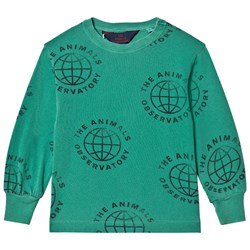 The Animals Observatory Dog Kids T-shirt Green Planet
