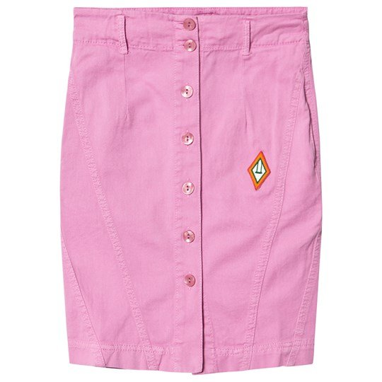 The Animals Observatory Sow Skirt Pink Logo Pink Logo