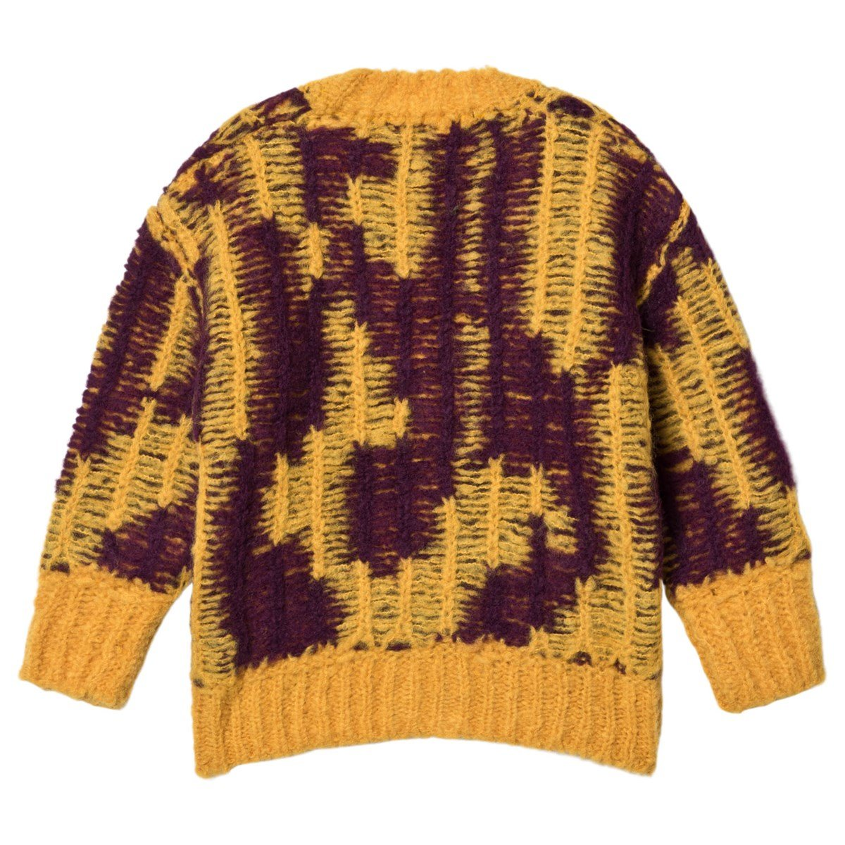 The Animals Observatory Arty Racoon Kids Cardigan Yellow