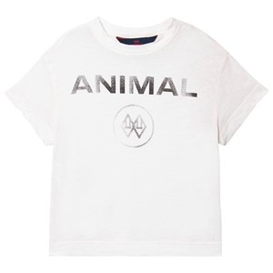 Image of The Animals Observatory Rooster Kids+ T-shirt White Animal 2 år (1630022)