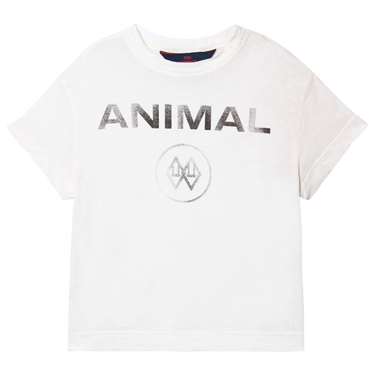 The Animals Observatory Rooster Kids+ T-shirt White Animal White Animal