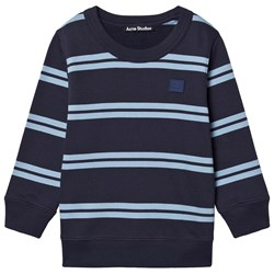 Acne Studios Mini Stripe Sweatshirt Navy