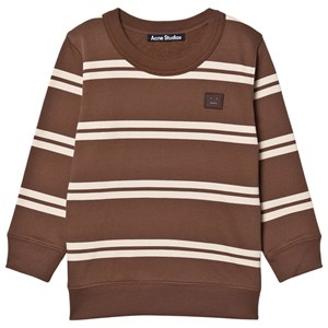 Image of Acne Studios Mini Stripe Sweatshirt Mørkebrun 6-8 Years (1601328)