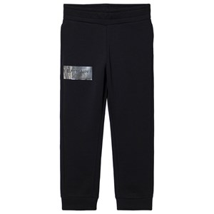 Image of Balmain Branded Holographic Sweatpants Sort 10 years (1614976)