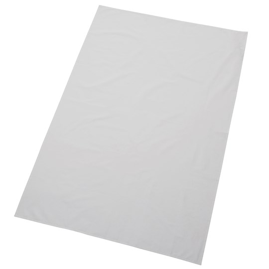 rattstart Plastic Coated Terry Bed Protector And Sheet White