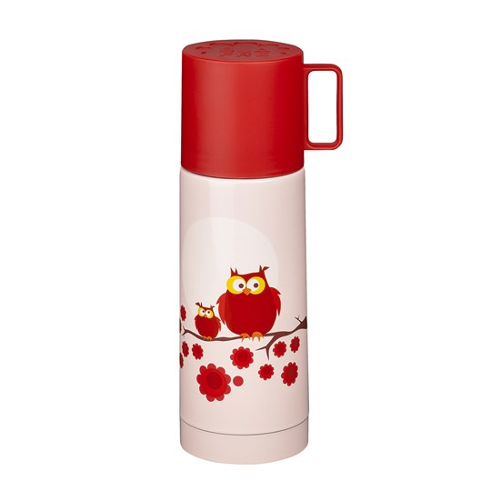 Blafre Thermos Owl Red Red