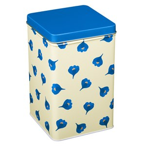 Image of Blafre Tall tin box Crocus Blue One Size (1582906)