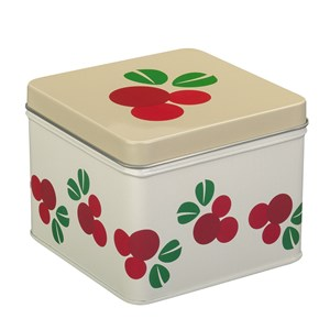 Image of Blafre Small Lingonberry Tin Box Cream One Size (1637029)