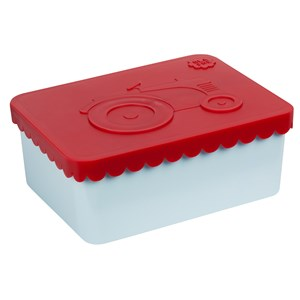 Image of Blafre Lunch box Fox 1 compartment red light blue One Size (1637035)
