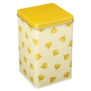 Image of Blafre Tall tin box Crocus Yellow One Size (1582905)