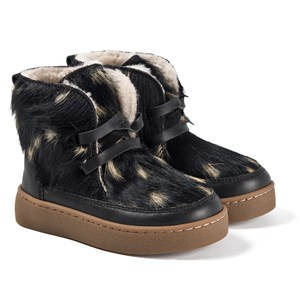 Image of Donsje Amsterdam Archie Exclusive Lining Boots Wild Black Cow Hair 26 EU (1607326)