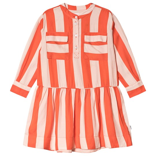 Molo Cacao Dress Bonbon Stripe Bonbon Stripe