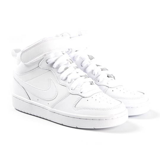 NIKE White Court Borough Mid Trainers 100