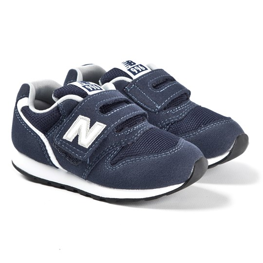 New Balance Navy & White Velcro Strap Infants Trainers PIGMENT (481)
