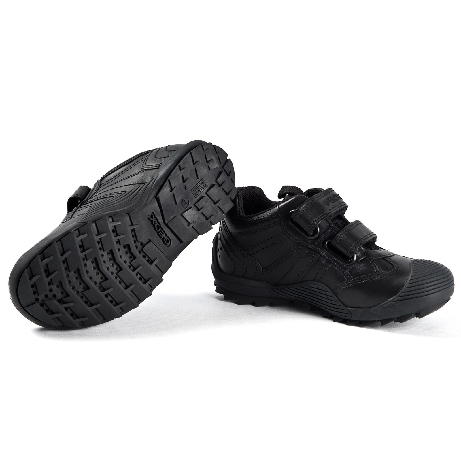 avaro Moviente Desnudarse  Geox - Savage Shoes Black - Babyshop.com