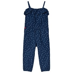 Ralph Lauren Ruffle Star Jumpsuit Navy