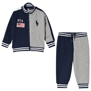 Image of Ralph Lauren USA Flag Tracksuit Navy 24 months (1627253)