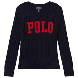 Ralph Lauren POLO Cable Sweater Navy