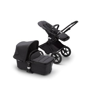 Image of Bugaboo Fox2 Mineral Complete Klapvogn Black/Washed Black One Size (1582505)
