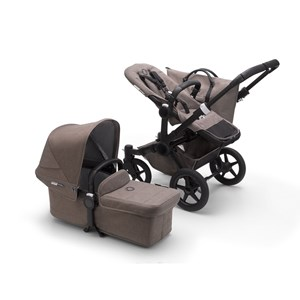 Image of Bugaboo Donkey3 Mineral Mono Complete Barnevogn Black Taupe One Size (1582536)