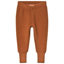 Kuling Wool Fleece Pants Brown