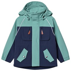 Kuling Gothenburg Softshelljacka Navy/Off Petrol