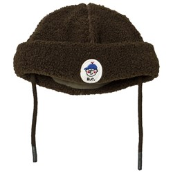 Bobo Choses Boy Patch Sheepskin Beanie Greener Pastures