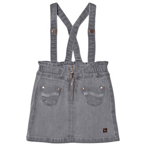 Image of Carrément Beau Denim Pinafore Grå 3 years (1619948)