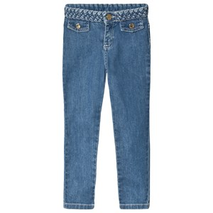 Image of Chloé Braided Jeans Blå 4 years (1620689)