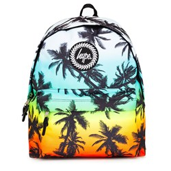 Hype Palm Tree Fade Backpack White