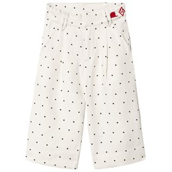 The Animals Observatory Emu Twill Pants White Dots