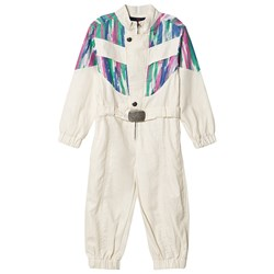 The Animals Observatory Grasshopper Jumpsuit White Colors