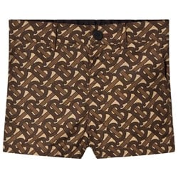 Burberry TB Monogram Griffin Shorts Brown