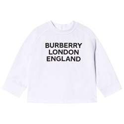 Burberry Logo Print T-Shirt White