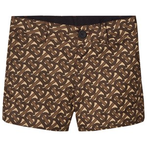 Image of Burberry TB Monogram Griffin Shorts Brunt 4 years (1608857)